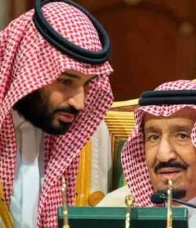 saudi king hospitalized