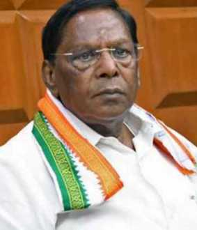 Free time for Puducherry ...  Kiranpedi as BJP candidate ...- Narayanasamy interview