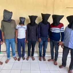 The robbers caught in Telangana were brought to Hosur!