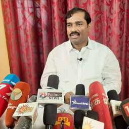 velmurugan spoke about reservation and PMK leader ramadoss