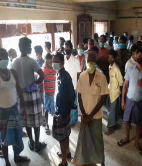Corona patients struggle at Chidambaram