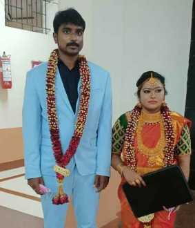 The newlyweds who attended the interview