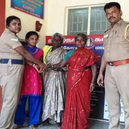 Inspector who rescued a mentally ill woman and handed over to her relatives