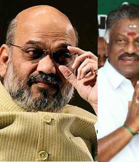 Amit Shah said DMK victory can be prevented only if TTV Dhinakaran joins AIADMK