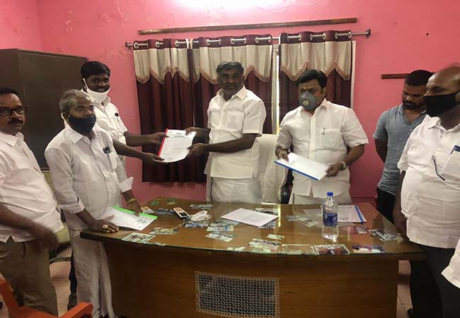 admk party it wing minister