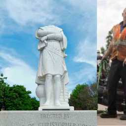 statues vandalized in america and europe