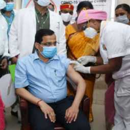 covidshield vaccinated to Salem District Collector