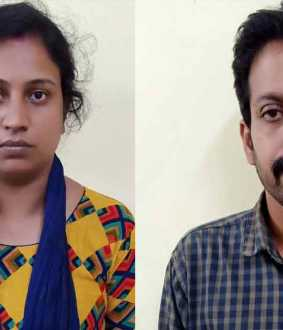 kerla couple stolen gold chain from coimbatore gold shop