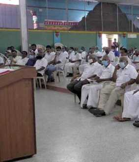 The government has allocated Rs 144 crore to renovate the canal ... Opinion meeting in Erode district ..
