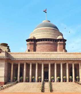 rashtrapati bhavan first of coronavirus conformed