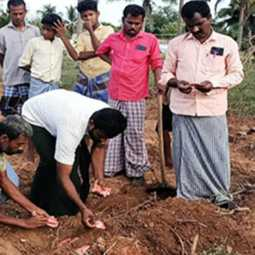 Pudukkottai incident -Insurance ID cards buried in the soil