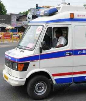 chennai coronavirus 108 ambulance  new landline number announced