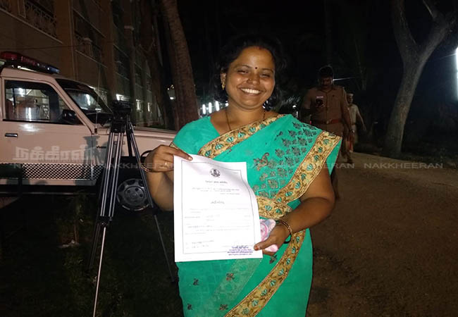 local body election results  Wife of Ration Employee win