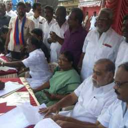 Signature campaign against Citizenship Amendment law in Dindigul! started up !!