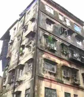 apartments collapsed in mumbai