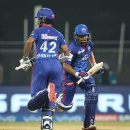 ipl cricket match for today delhi capitals team won