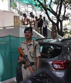 ANDHRA PRADESH KALKI ASHRAM INCOME TAX RAID 20 CRORES RUPEES SEIZURES OFFICERS