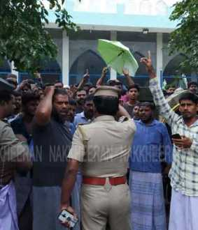 Nidur Muslim people trying to Siege the Minister