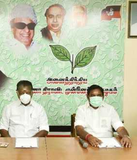 TN ASSEMBLY OPPOSITION PARTY LEADER DISCUSSION WITH ADMK PARTY