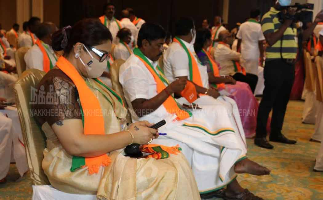 Amit Shah laid the foundation stone .. Tamil Nadu BJP (Pictures)