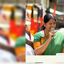 '' BJP will not get a single seat in Tamil Nadu '' - Kanimozhi talk!