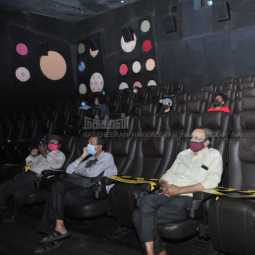 Sathyam Theater Open Photos
