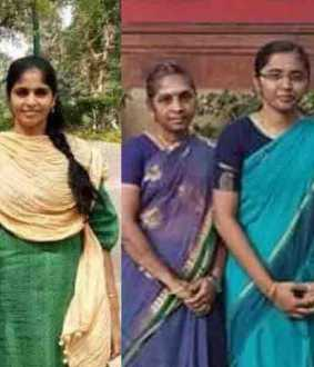 Two women win IAS exam in Panruti -