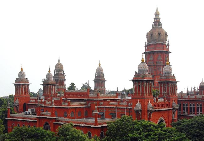 tamilnadu government chennai high court