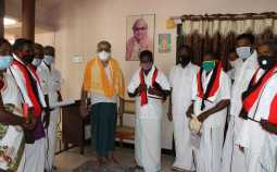 Former BJP leader Thangaraj of Attur left the party and joined the DMK