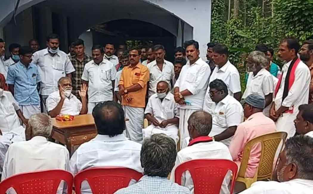 """DMK will win 100 percent in the southern districts"" - I. Periyasamy"