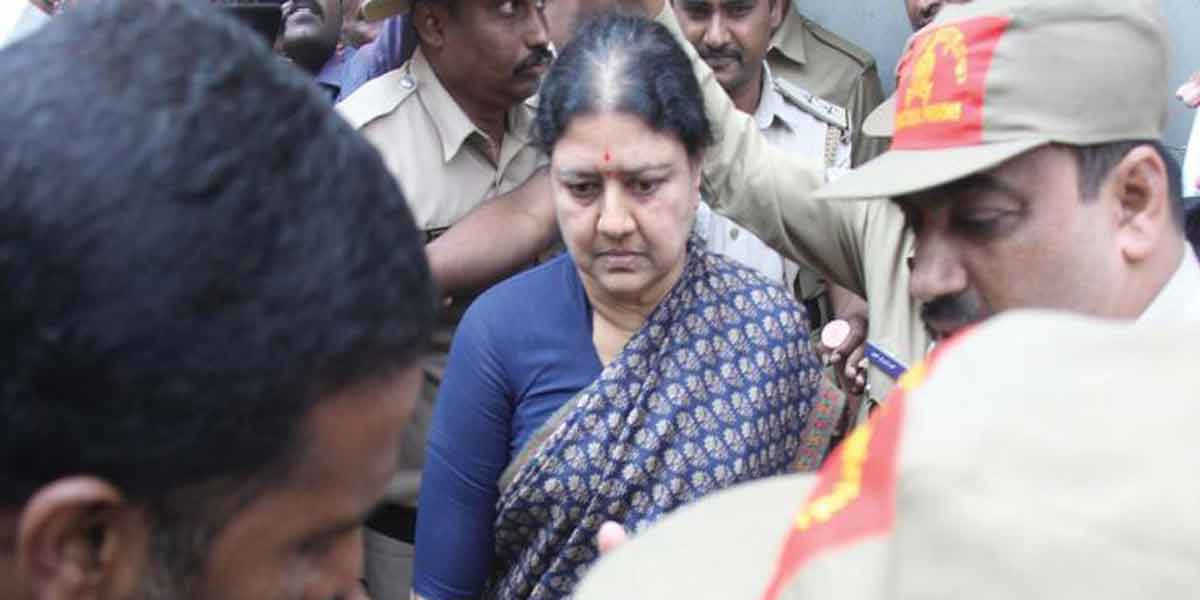 Treatment for Sasikala in ICU!