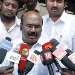 Minister Jayakumar comments on actor Vijay's poster