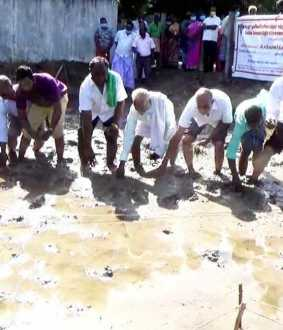 Traditional Paddy Planting Festival in Cuddalore District...