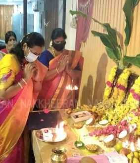 dmdk ayudha pooja celebration