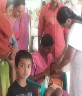 Polio vaccines for 70 lakh children