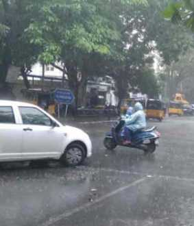 Chance of heavy rain in Coimbatore and Nilgiris
