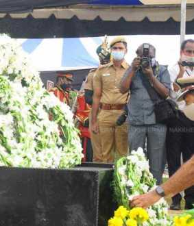 Tamil Nadu Police DGP Tripathi pays homage to policemen on commemoration  Day