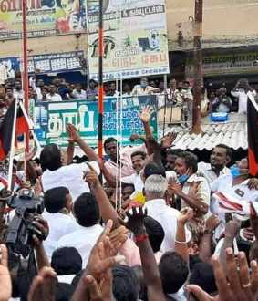 Tuticorin Vilathikulam DMK ADMK issue