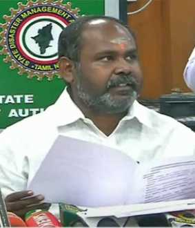 nivar cyclone prevention activities minister press meet at chennai