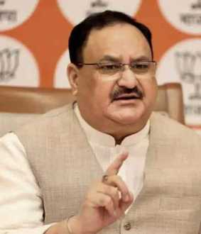 Nadda reaches Dehradun in his 120 day tour plan