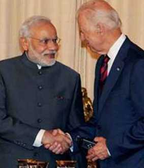 'I look forward to working with Joe Biden' - Modi Greetings
