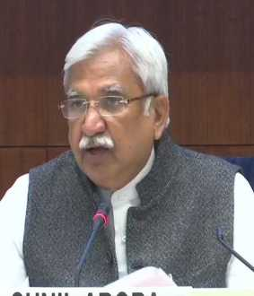 chief election commissioner pressmeet at delhi