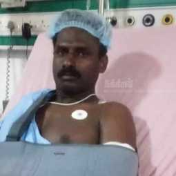 tuticorin police officer hospitalized