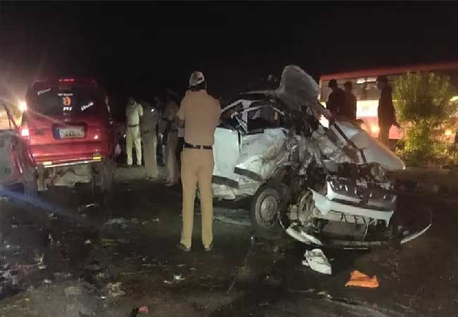 today early morning incident in karnataka