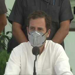 agriculture acts congress party leader rahul gandhi press meet at punjab