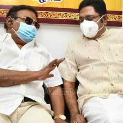 TTV.Dhinakaran-Vijayakanth meeting