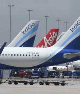 large number of flights cancelled in india