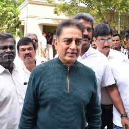 INDIAN 2 FILM SHOOTING INCIDENT ACTOR KAMAL HASSAN GOING TO CBCID OFFICE