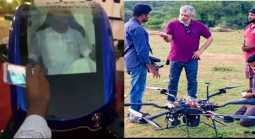 minister jayakumar travel air taxi made by ajith team
