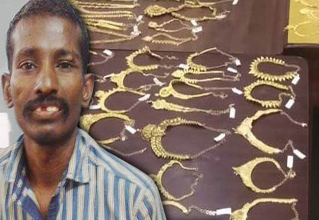 trichy lalithaa jewellery thief again one person arrest in police